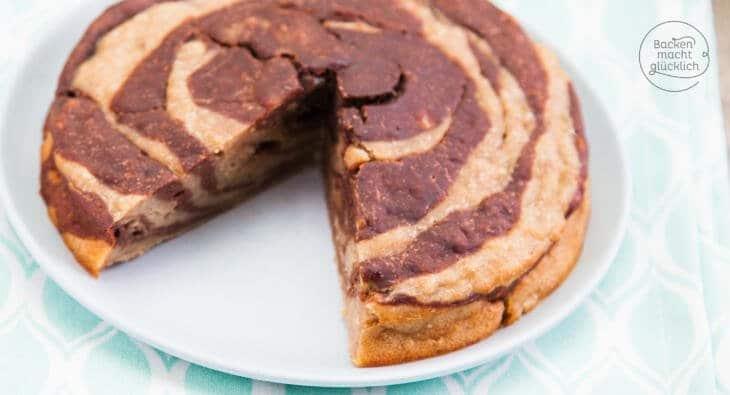gesunder Bananenkuchen ohne Zucker und Ei