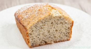 Zitronen-Mohn-Kuchen ohne Fructose