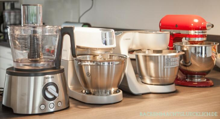 Küchenmaschinen zum Backen im Test