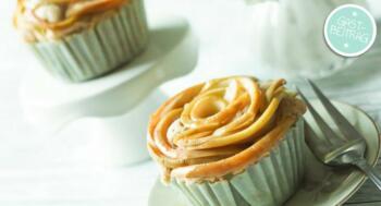 Apfelrosenmuffins Rezept