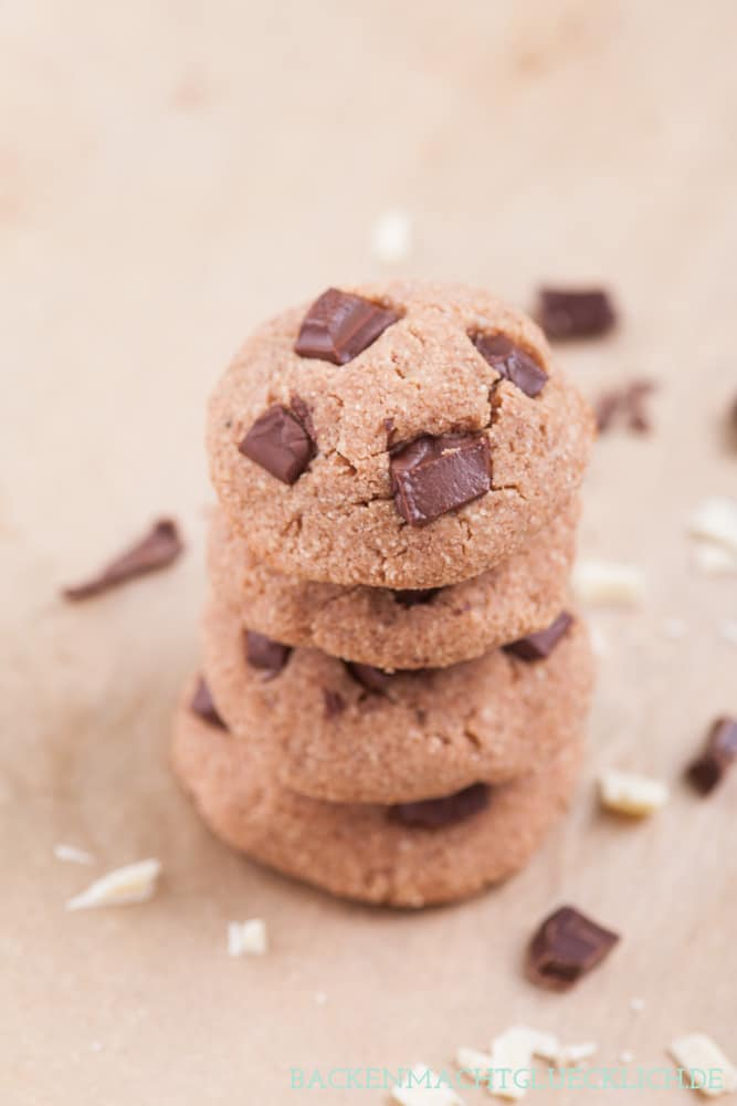 Low Carb Chocolate Cookies backen