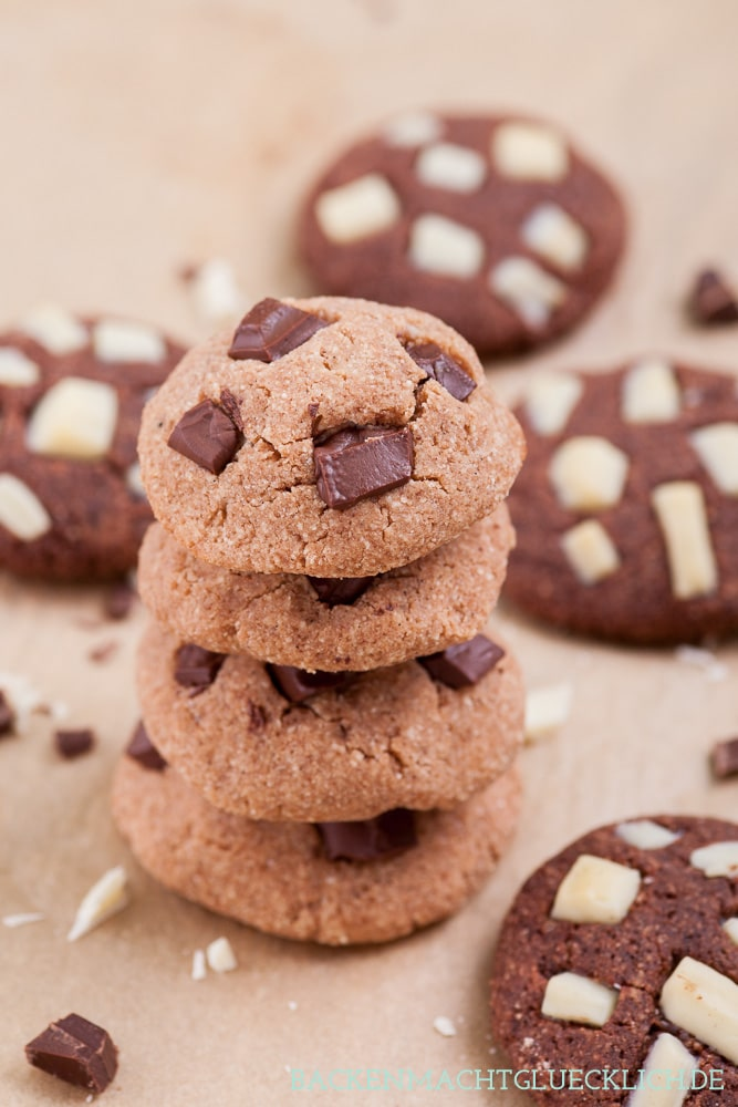 Low Carb Schoko-Cookies ohne Gluten