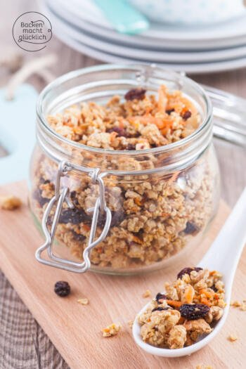 granola vegan selbermachen