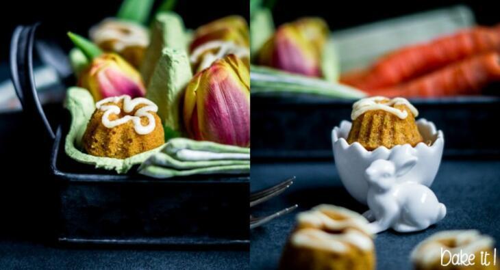 Karottenkuchen Mini-Gugl
