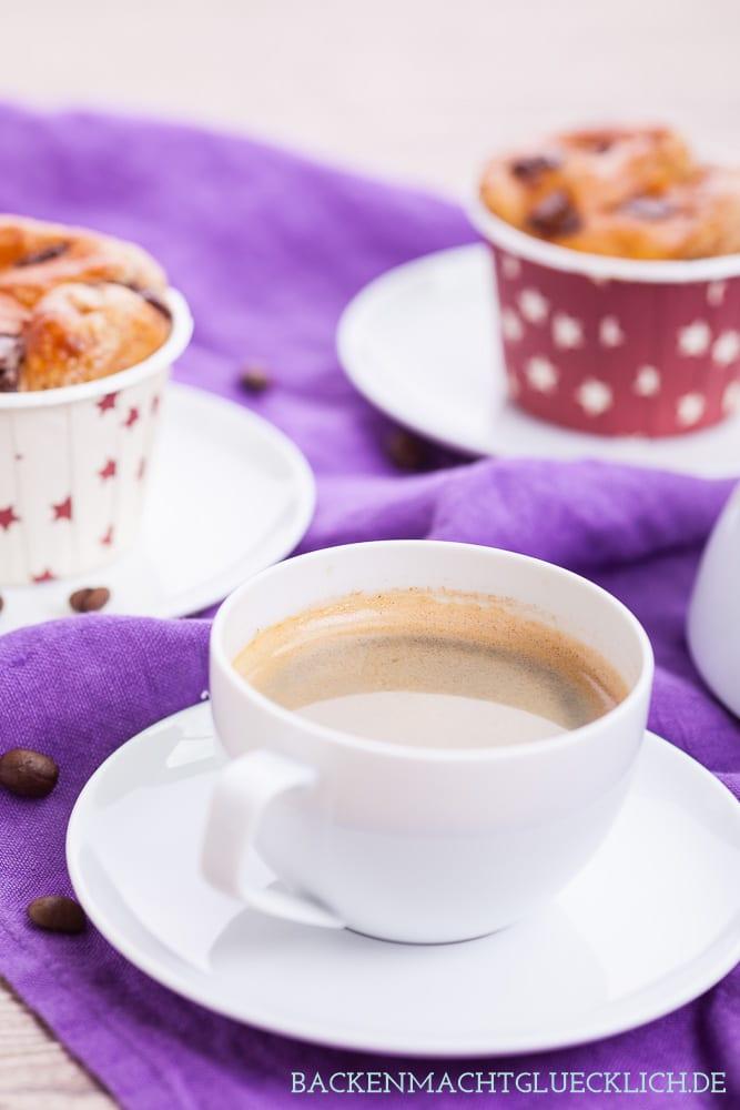 Proteinmuffins Rezept mit Mokka