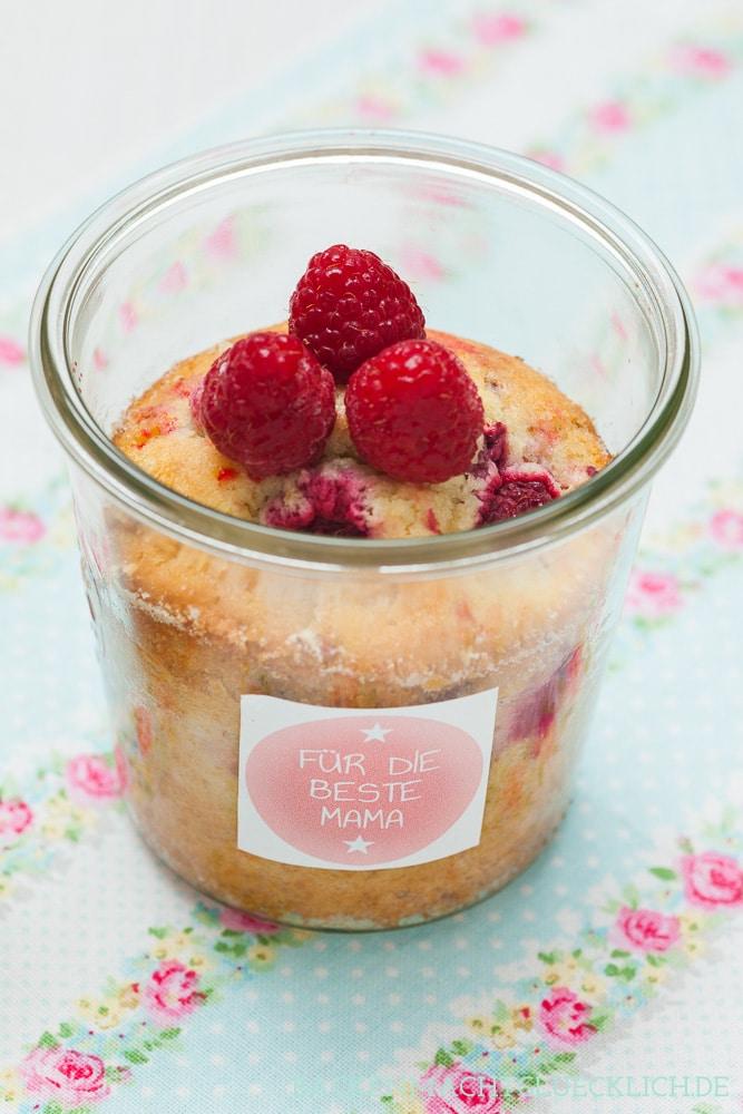 Kuchen im glas personalisiert