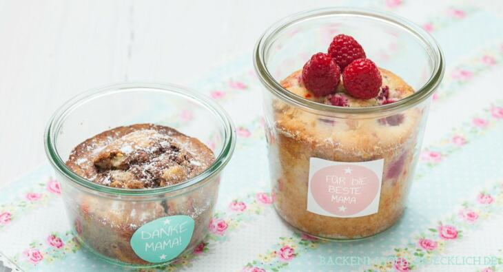 Muttertag Kuchen Im Glas Backen Macht Glucklich
