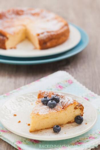 Rezept Quarkkuchen ohne Boden