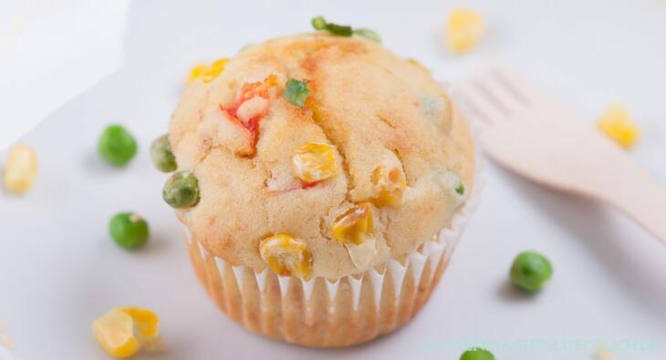 Herzhafte Muffins zum kalt essen