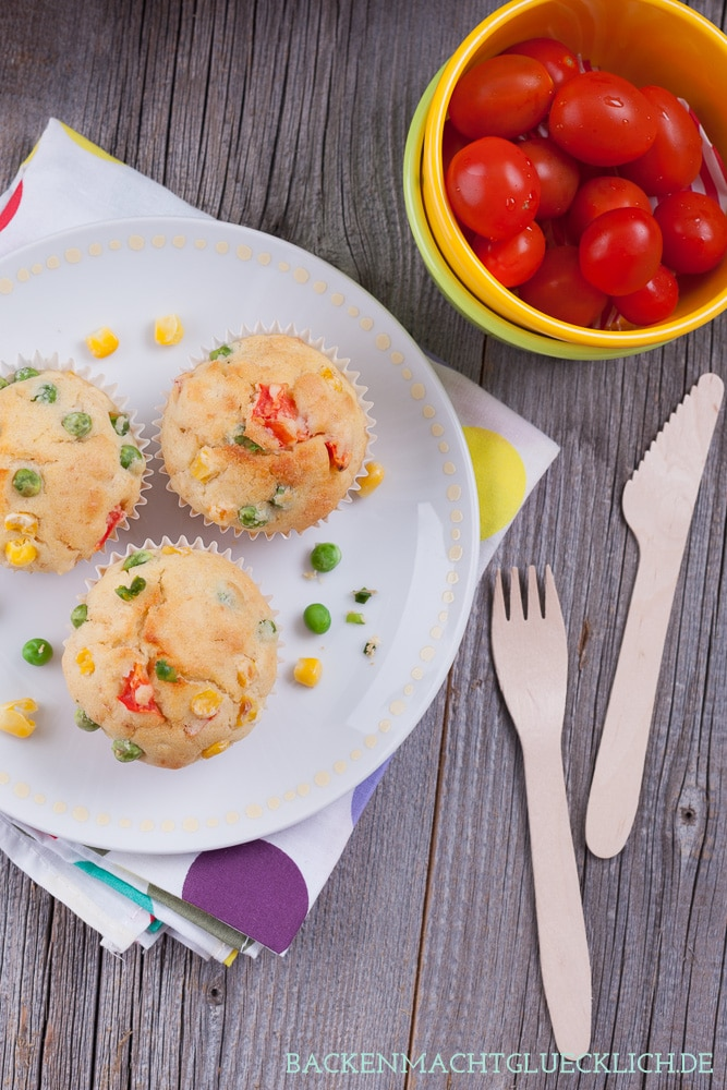 Picknick Rezept pikante Muffins