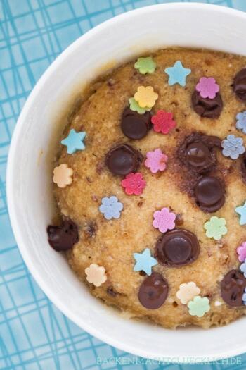 Mikrowellen-Keks (Mug Cookie)