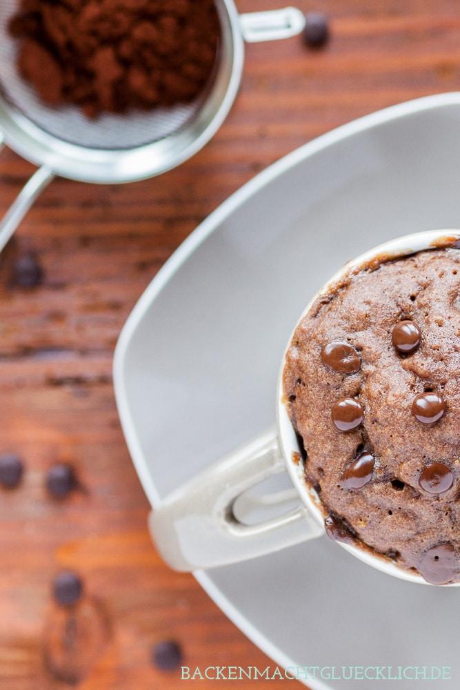 5 Minuten Schokoladenkuchen