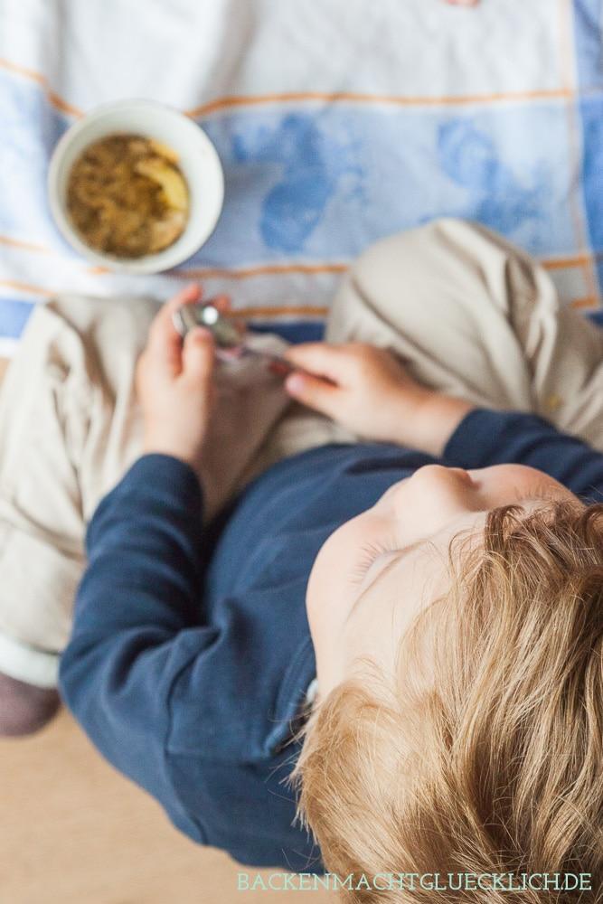 Mikrowellenkuchen backen mit Kindern