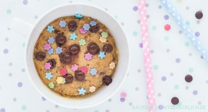 Mug Cookie 5 Minuten Keks