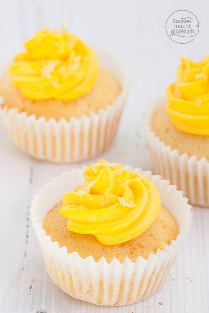 Lemon Cupcakes Rezept