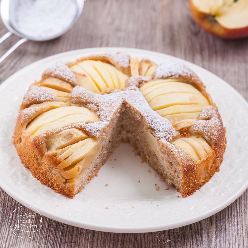 Gesunder Apfelkuchen