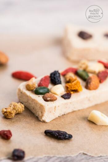 Gesunde-Proteinriegel-ohne-Backen
