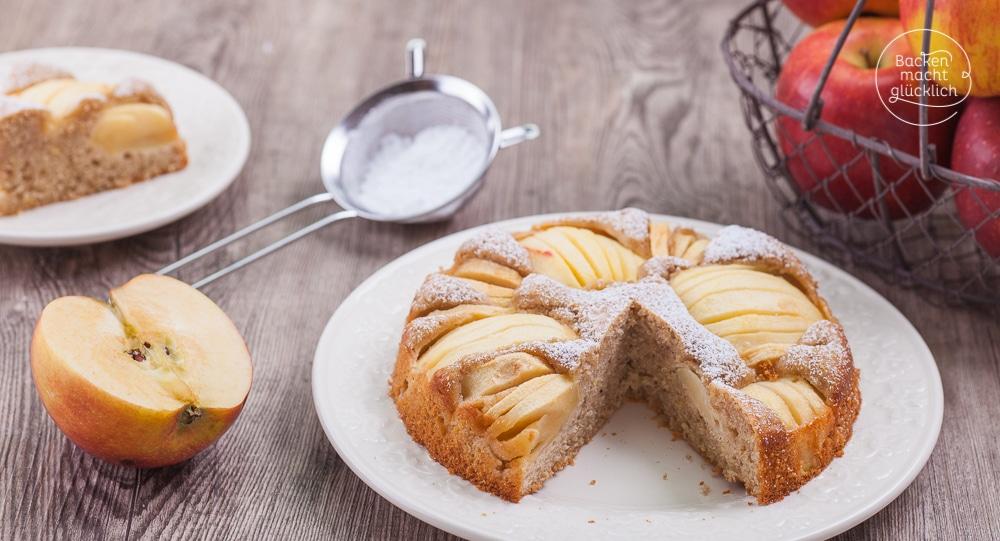 Gesunder Apfelkuchen Backen Macht Glucklich