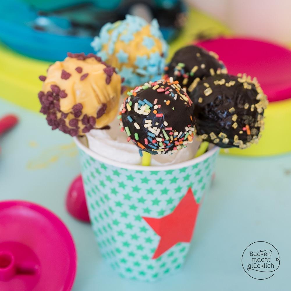 Cake Pop Rezept Für Kinder Backen Macht Glücklich