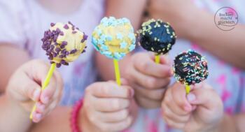 Cake Pops mit Kindern machen