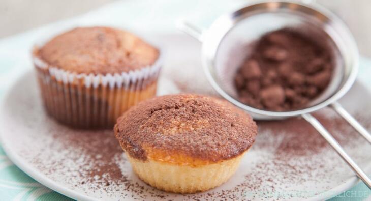 Einfaches Marmor-Muffins-Rezept