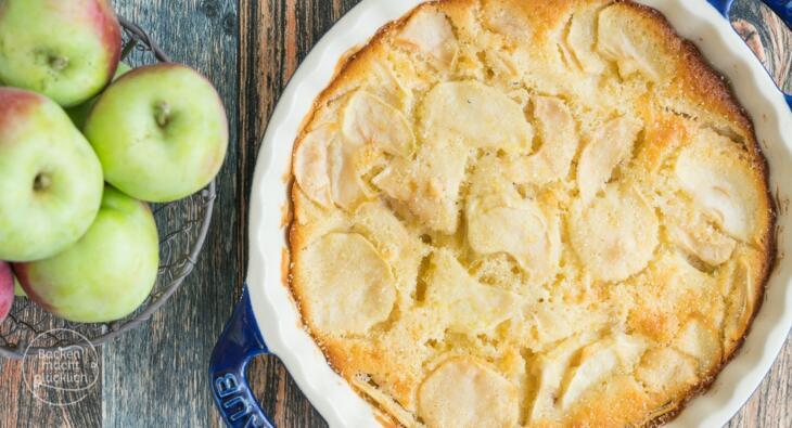 Italienischer Apfelkuchen Rezept