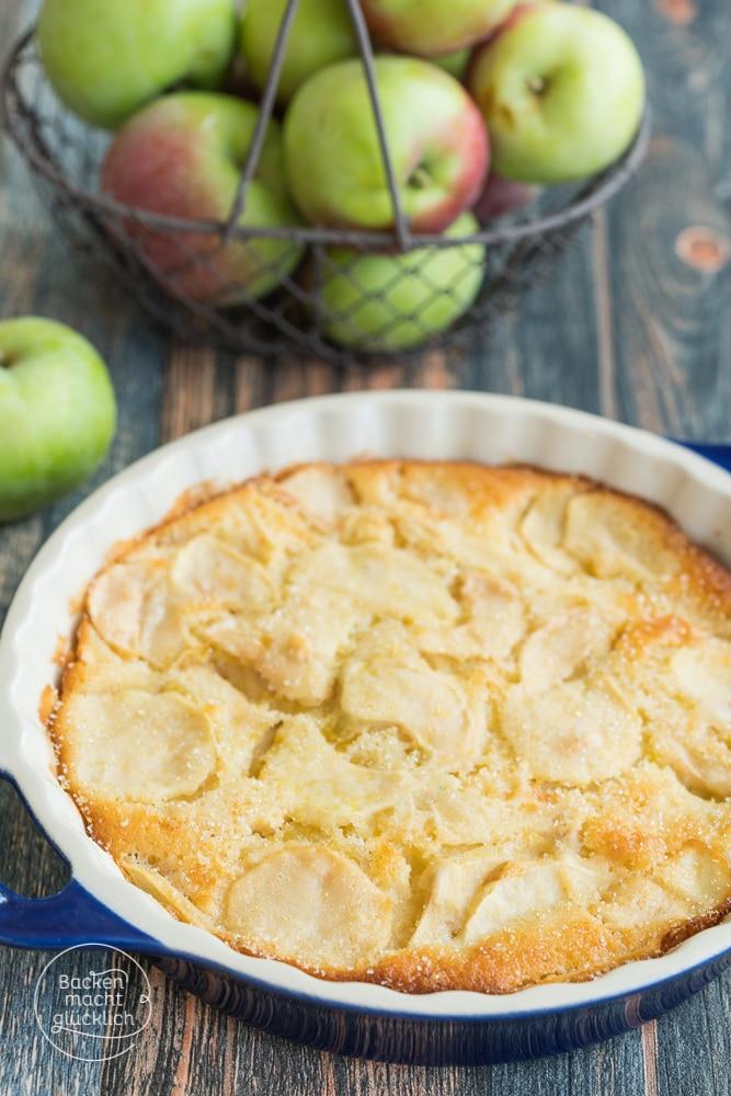 italienischer Apfelkuchen torta di mele