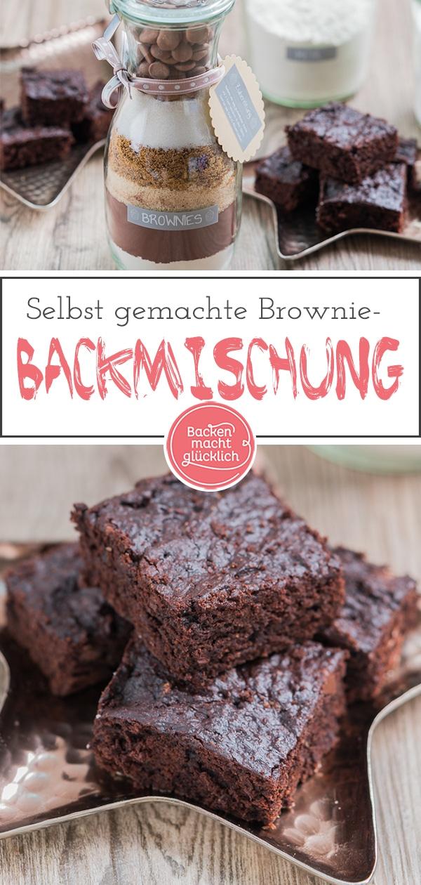 Brownie Backmischung Im Glas Backen Macht Glucklich
