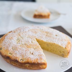 Einfaches Birnenkuchen-Rezept