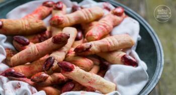 Halloween Backrezept Finger