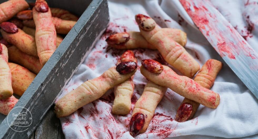 Halloween abgehackte Finger