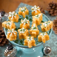 Pikante Mini-Muffins mit Topping