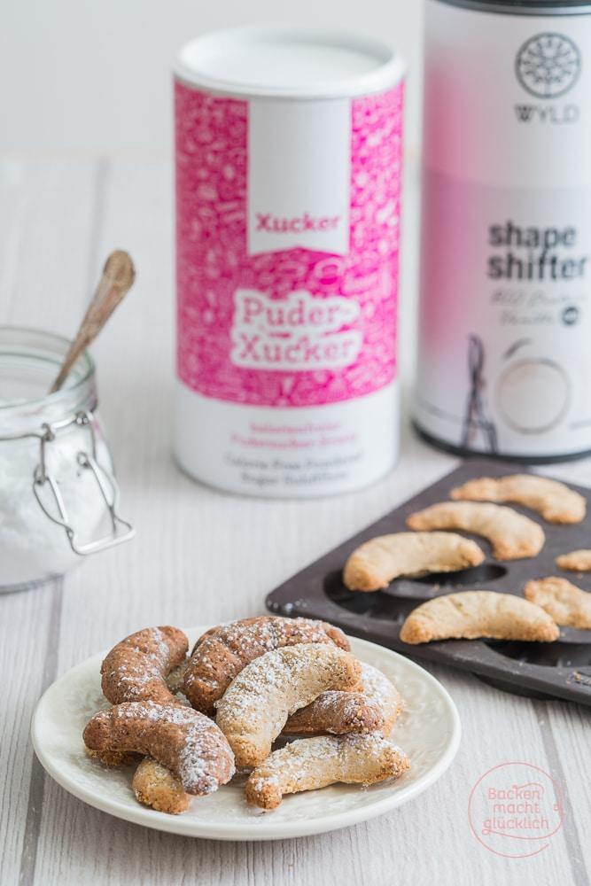Vanillekipferl glutenfrei und low carb