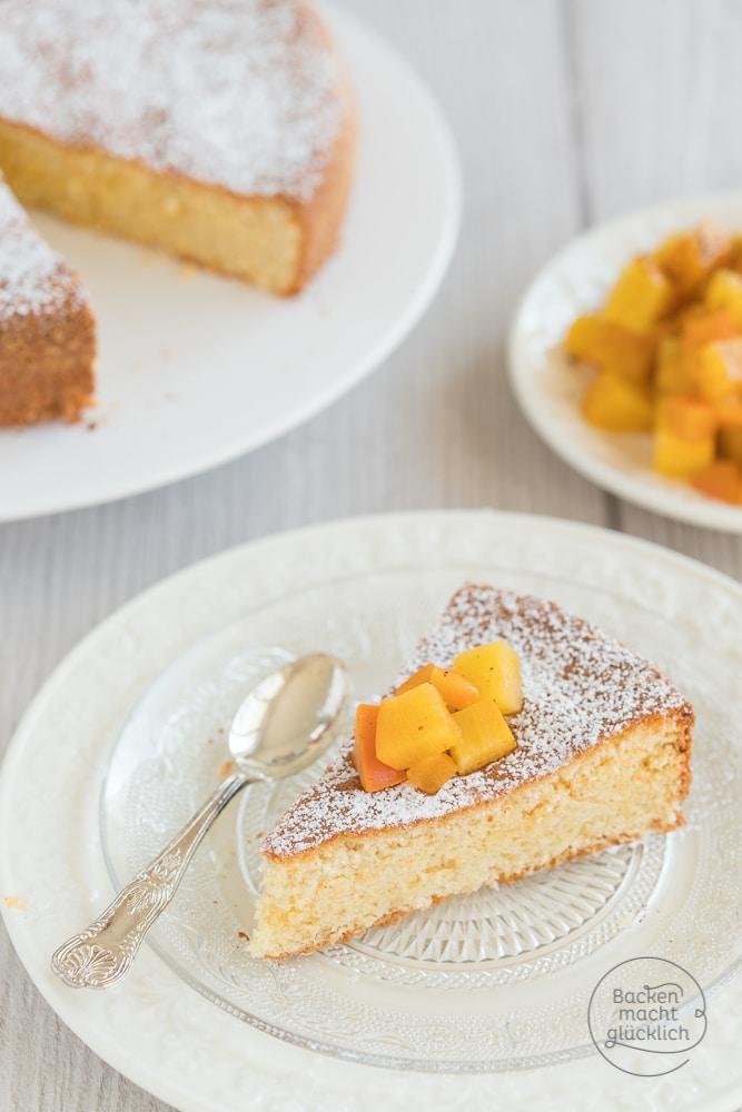 Mandel-Kuchen ohne Mehl