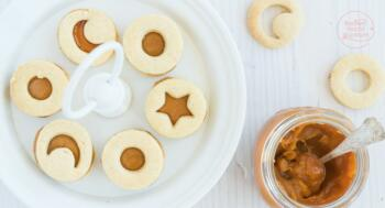 Kekse mit Karamellcreme Füllung
