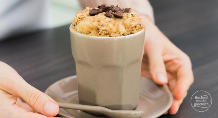 Chai Tassenkuchen mit Knusperstreuseln