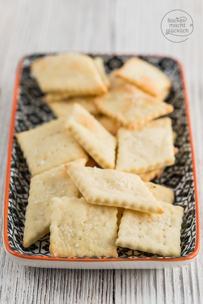 3 Zutaten Cracker Grundrezept
