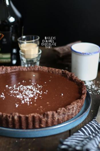Baileys Caramel Chocolate Cake