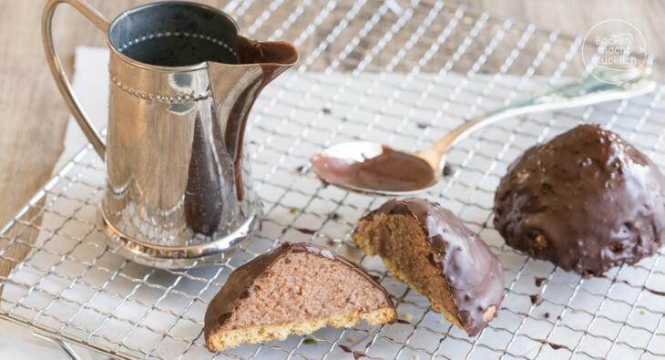 Granatsplitter mit Pudding und Kuchen