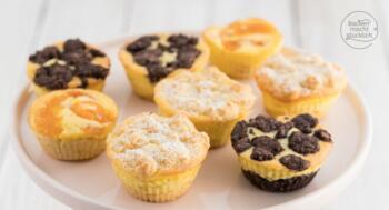 Kaesekuchen-Muffins Rezept