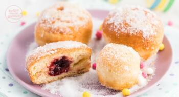 Krapfen Berliner Pfannkuchen Rezept