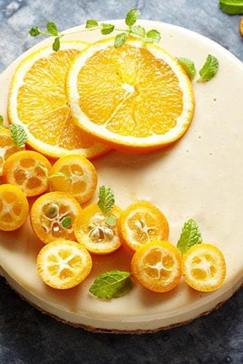 Vegane Orangentarte