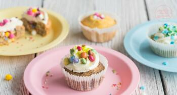 Geburtstags-Cupcakes Rezept