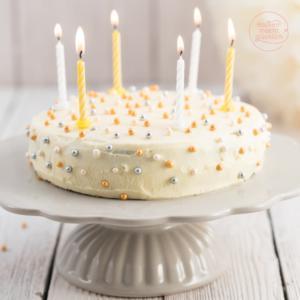 Einfache leckere Geburtstagstorte