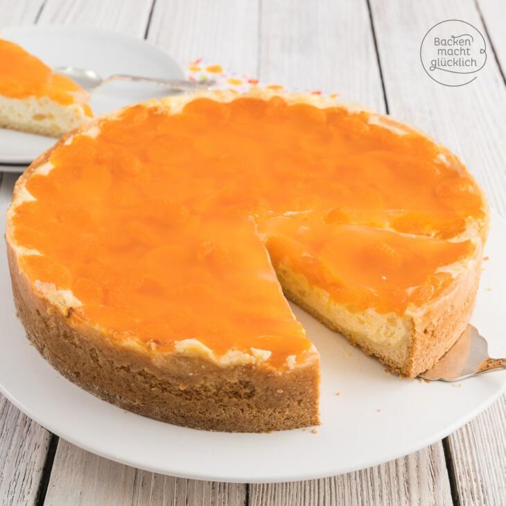 Mandarinen Schmand Torte Backen Macht Glucklich