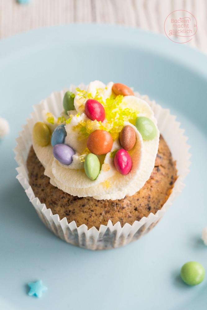 Smarties Cupcakes Rezept
