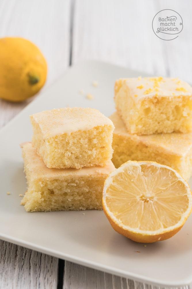 Zitronen-Kuchen-Rezept vom Blech