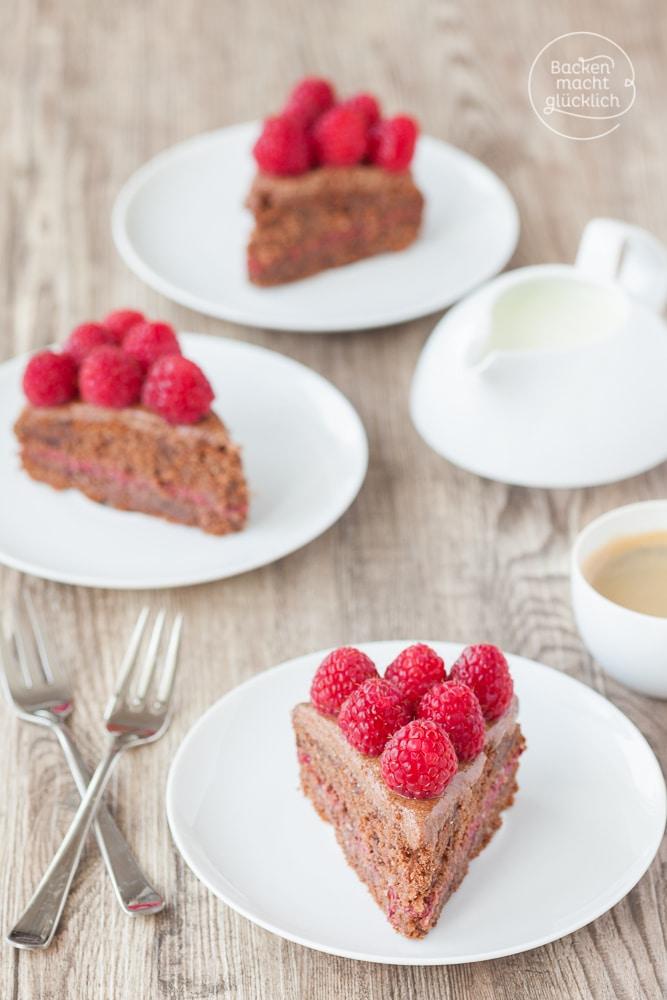 Gesunde Geburtstagstorte ohne Zucker
