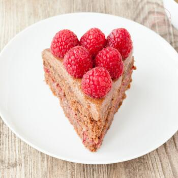 Gesunde Schokotorte clean eating