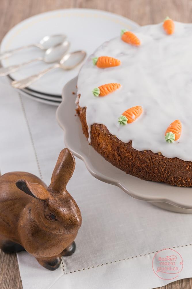 Karottenkuchen mit Öl